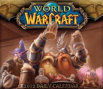 World of Warcraft - Календарь на каждый день 2012