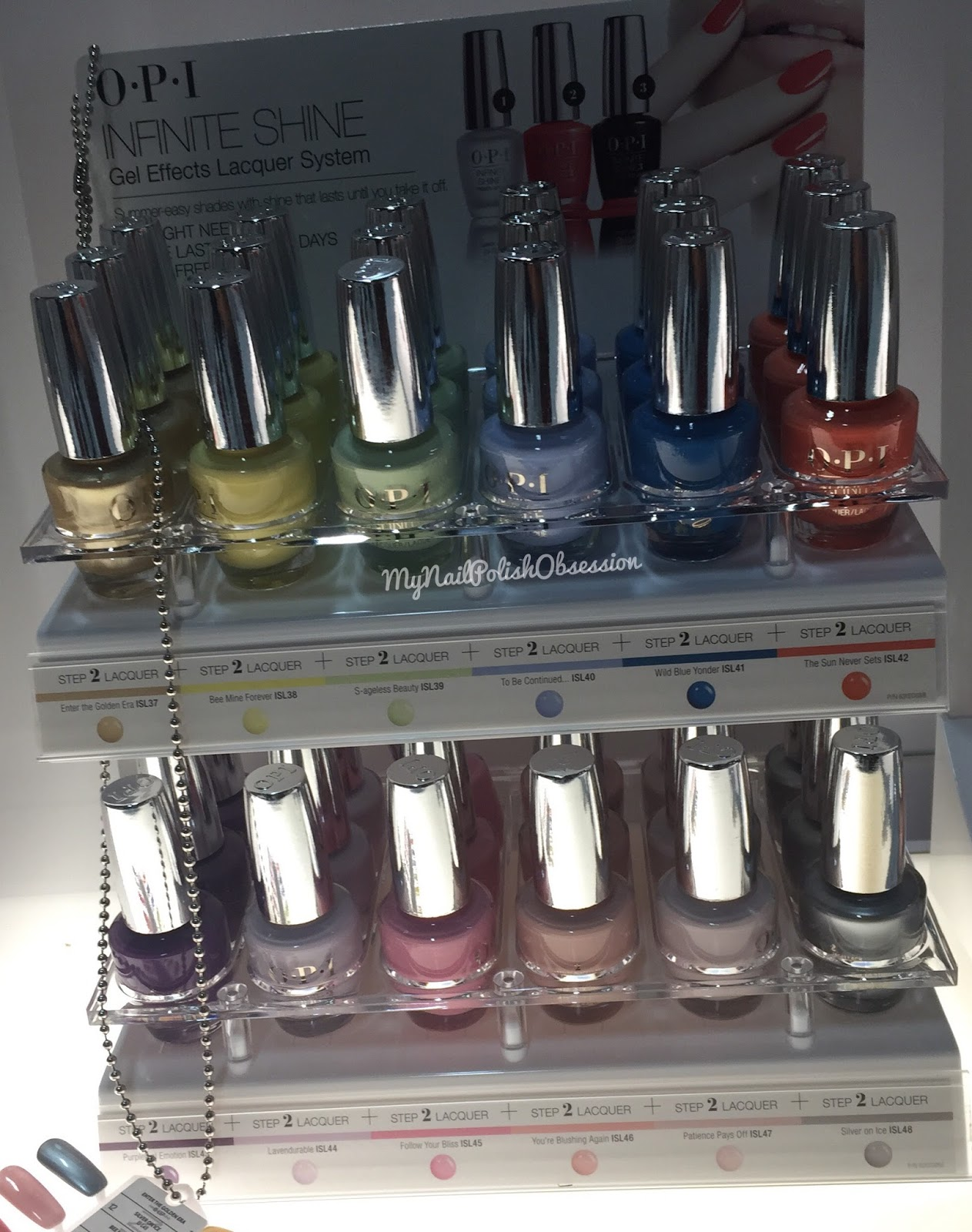 My Nail Polish Obsession: CosmoProf North America; OPI ...