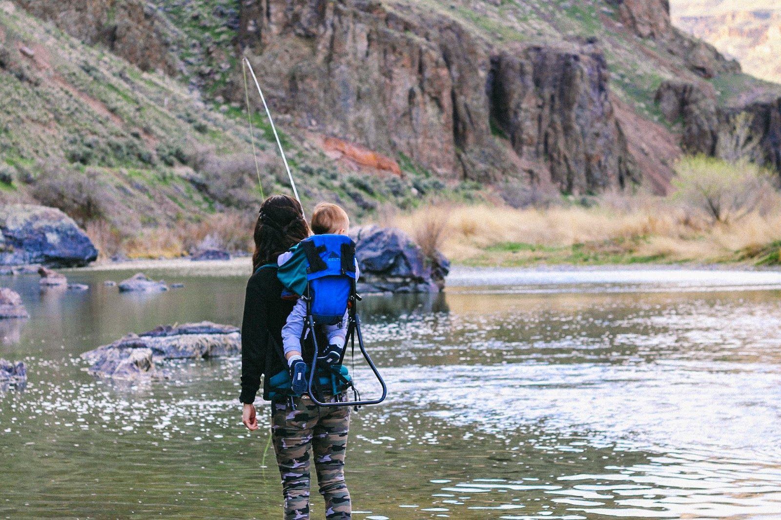 In the owyhees hope you like fresh air for Owyhee river fly fishing