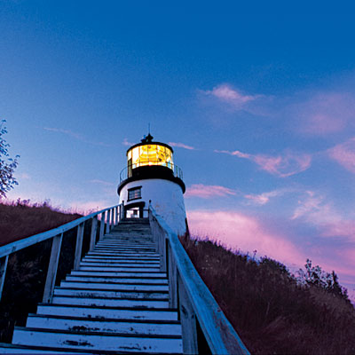 Are you scared most haunted lighthouses for What state has the most lighthouses