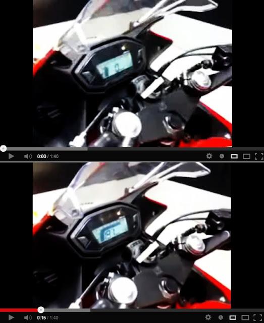 Honda CBR400R top speed estimation