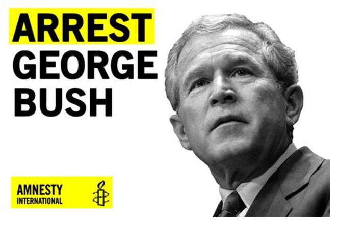 war criminal bush