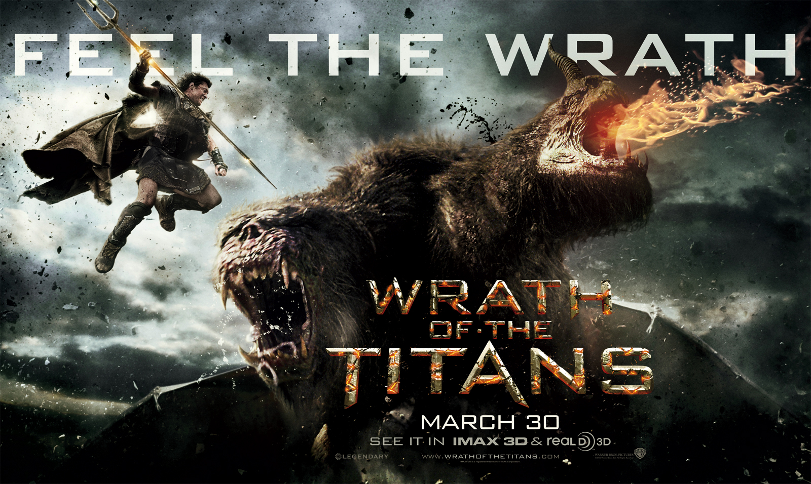 Watch The First Trailer Of Wrath Titans Starring Sam Worthington And Rosamund Pike