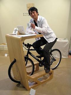 Bisikletli Ofis Masası Tasarımı