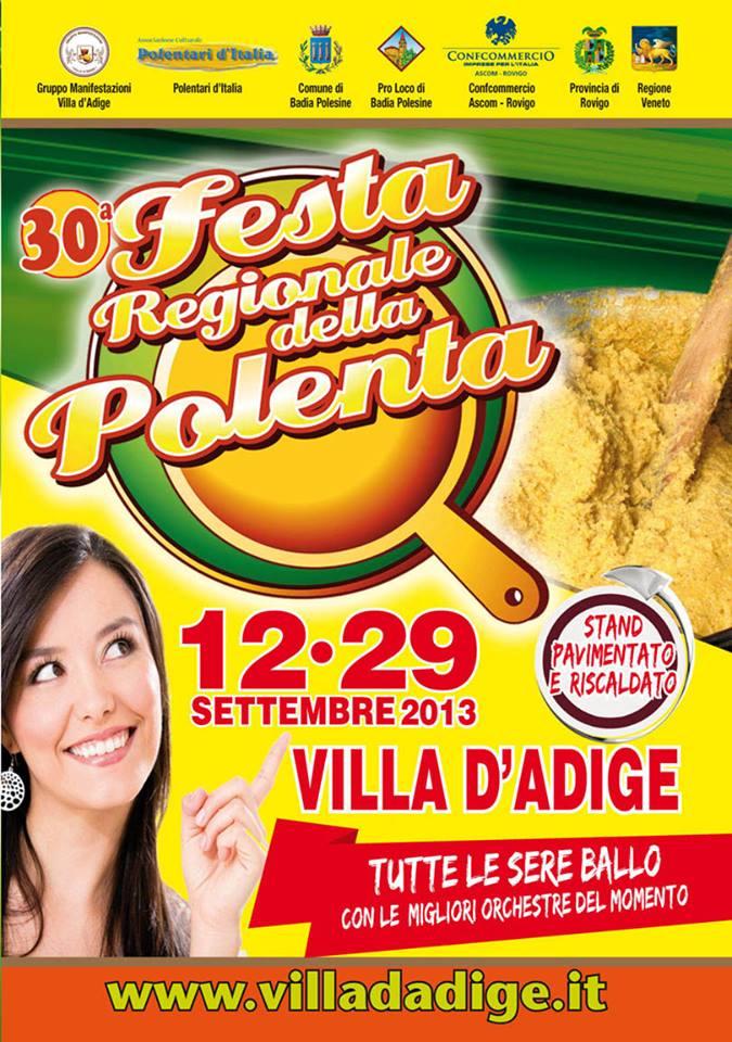 Festa Della Polenta  Villa D Adige