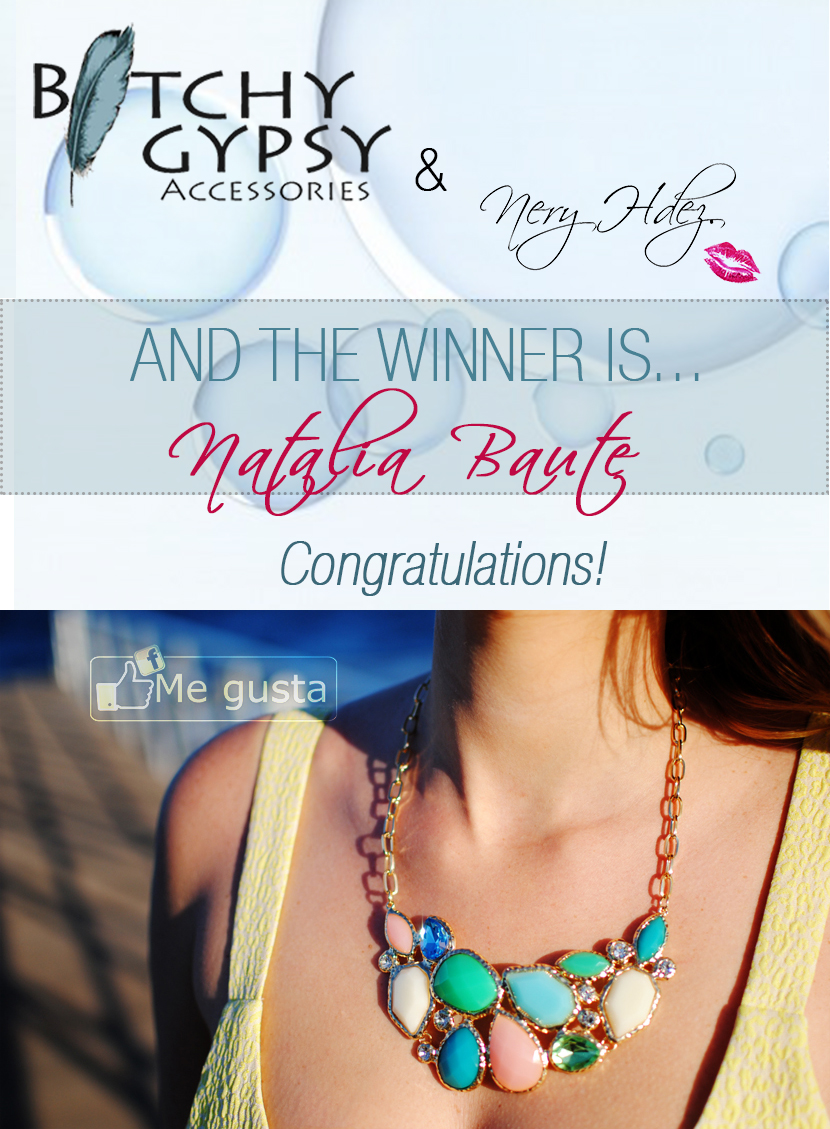 giveaway, sorteo en blog, Bitchy gypsy, snb