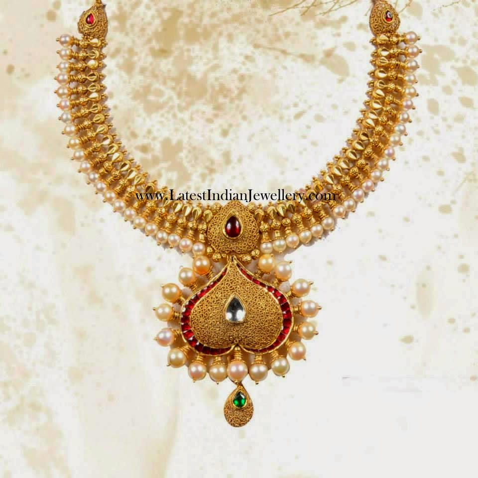 Indian Antique Gold Necklace