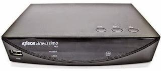 NOVA ATUALIZAÇÃO DO SEU APARELHO AZBOX BRAVÍSSIMO PLUS TRANSFORMADO AZAMERICA S1008 HD. Bravissimo-plus
