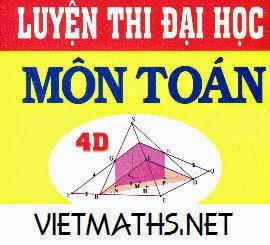 chuyen de on thi dai hoc toan 2013 cua nguyen duc thang