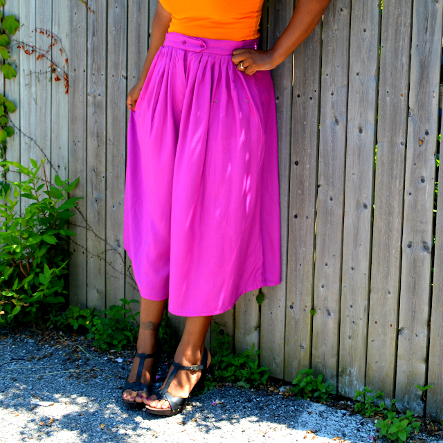 thrift and style summer culottes