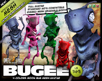 Bugee the moon bug