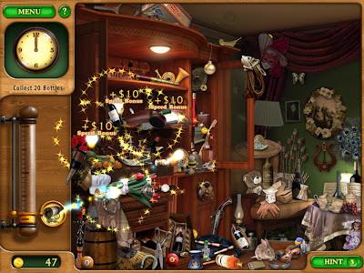 Gardenscapes HD (Premium) - มินิเกมหาขวดไวน์