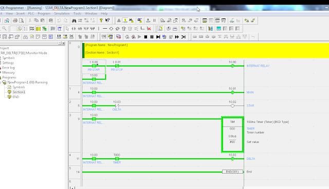 tutorial software cx one programmer