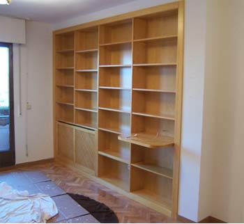 Bibliotecas industria procesadora de maderas ipm for Muebles de biblioteca