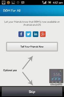 Mendaftar BlackBerry ID di Android