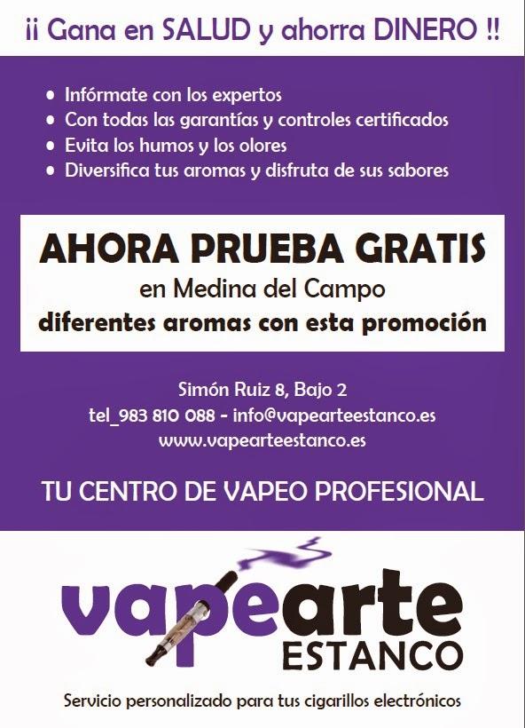 Publicidad de Vapearte Estanco