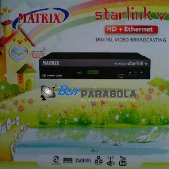 Digital S Receiver Matrix Starlink V  HD eternet