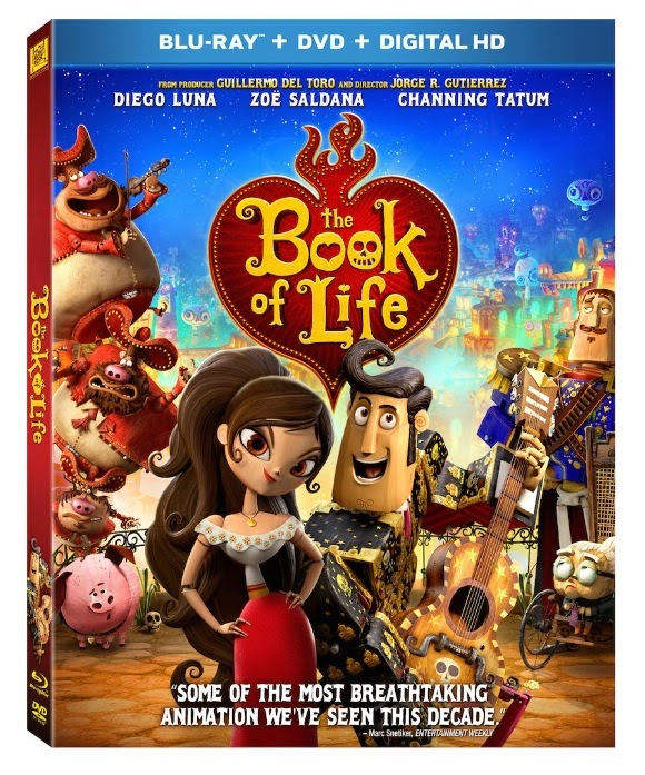 Giveaway The Book Of Life Movie In Blu Ray Dvd Bolinsiders Any Tots