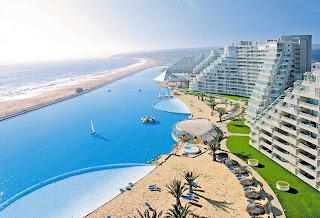 imagen de la piscina mas grande del mundo