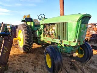 John Deere 4520 tractor parts