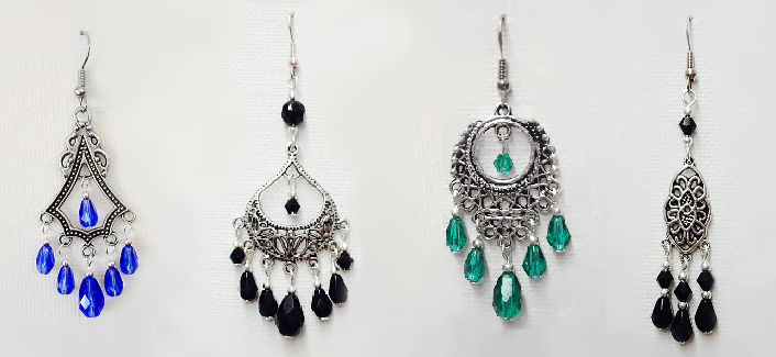 The Bohemian Rhapsody Collection:Earrings by Dawn Hill Designs