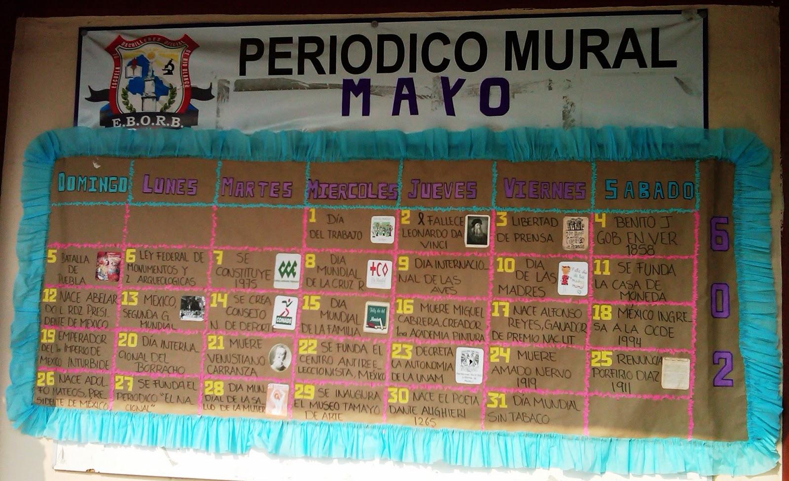 Escuela de bachilleres oficial de rio blanco periodico for Deportes para un periodico mural