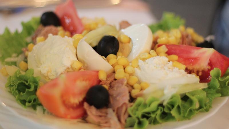 croazia, cibo, food, insalatona