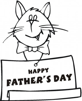 Free Coloring Pages: Fathers Day Coloring Pages, Free Father's Day
