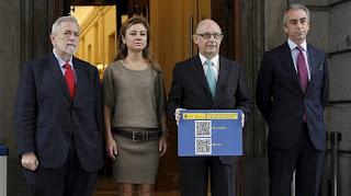 Montoro presenta los presupuestos del 2013