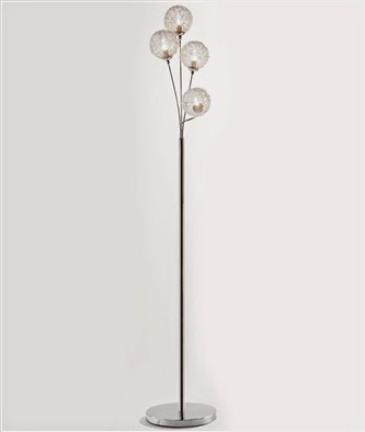 Oslo Lighting Range - 4 Light Floor Lamp