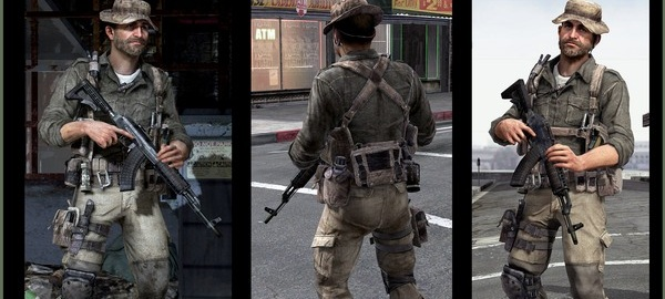 Call of duty modern warfare 4 according to captain price voice actor