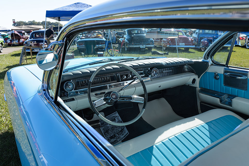 The Interior of Ed Szymansky's 1961 Cadillac Coupe de Ville