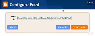 Comment Feed Blogspot