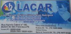 Laboratório de Análises Clínico LACAR