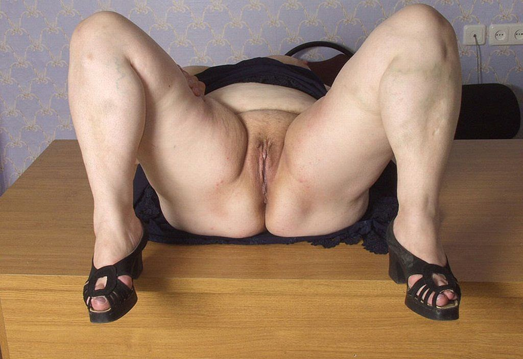 Fapped granny plump naked love