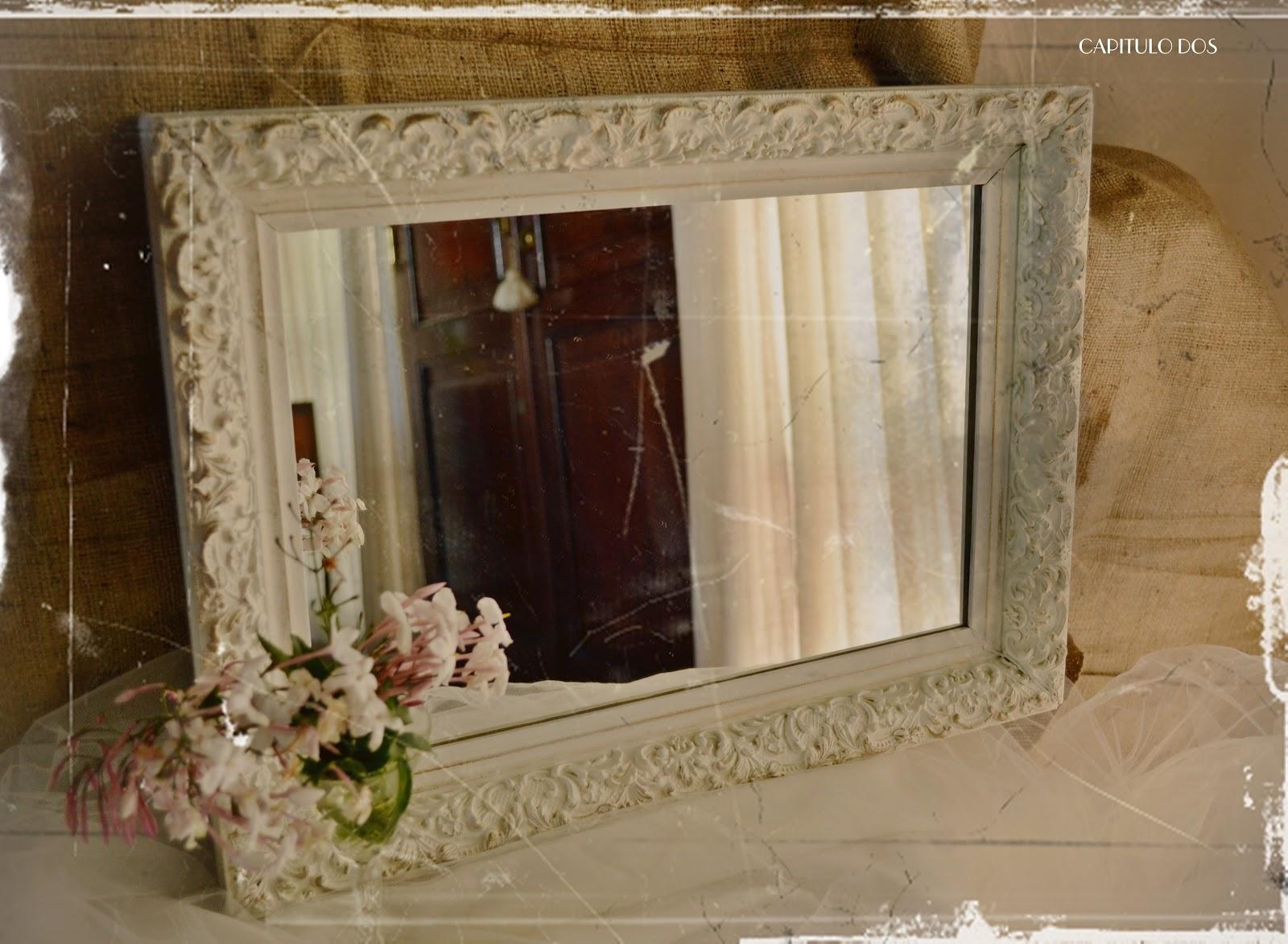 Capitulo dos espejito espejito ii for Pintar marco espejo