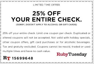 ruby tuesday printable coupons