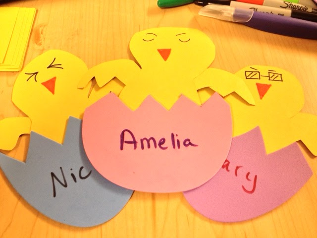 Rants Of An Optimist Spring Name Tags Or In My Case Door Decs