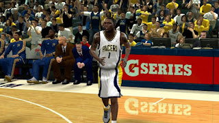 NBA 2K13 Indiana Pacers Home & Away Jersey Patch