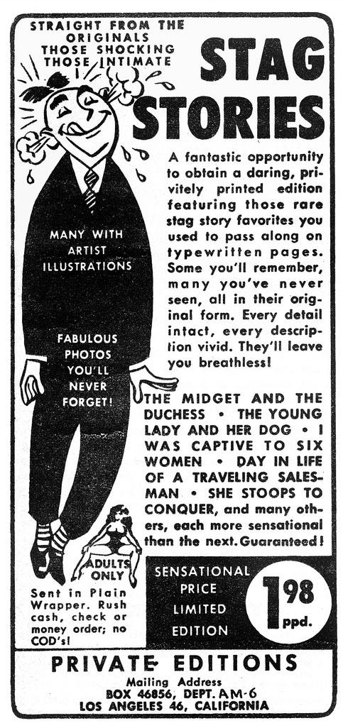 Vintage Porno Ads