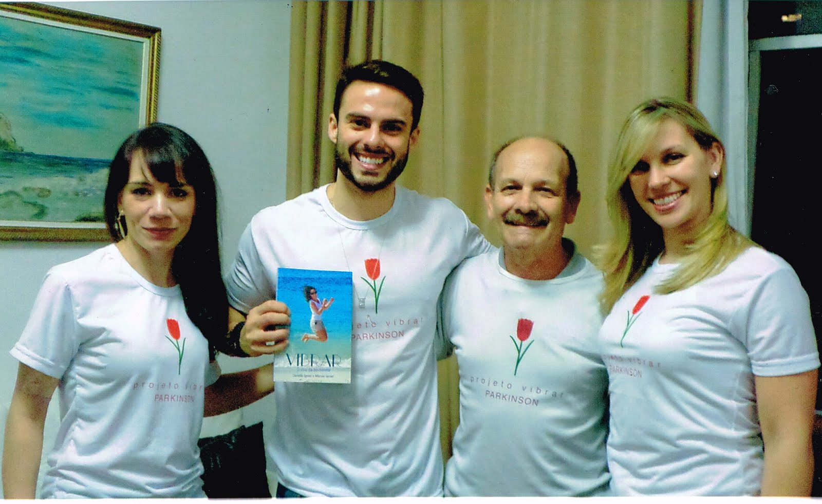 Manoel Ianzer Poesias - apoia o Projeto Vibrar Parkinson