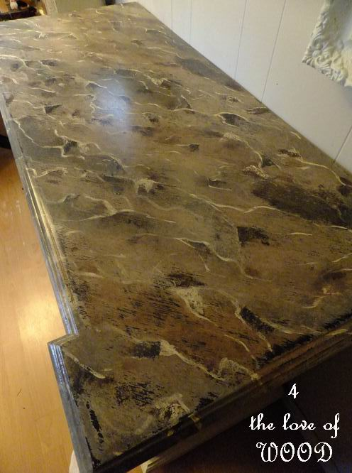 4 The Love Of Wood Faux Marble Painting A Dresser