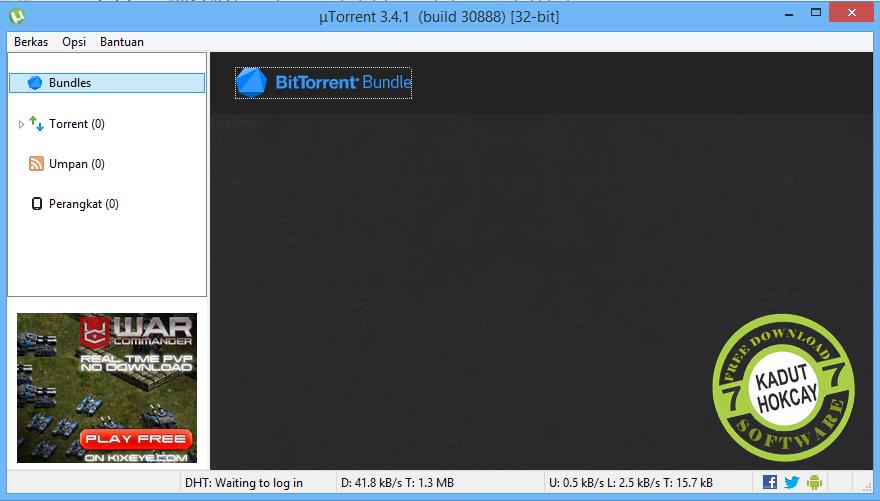 Download UTorrent 3.4.1 Build 30888 Final Terbaru