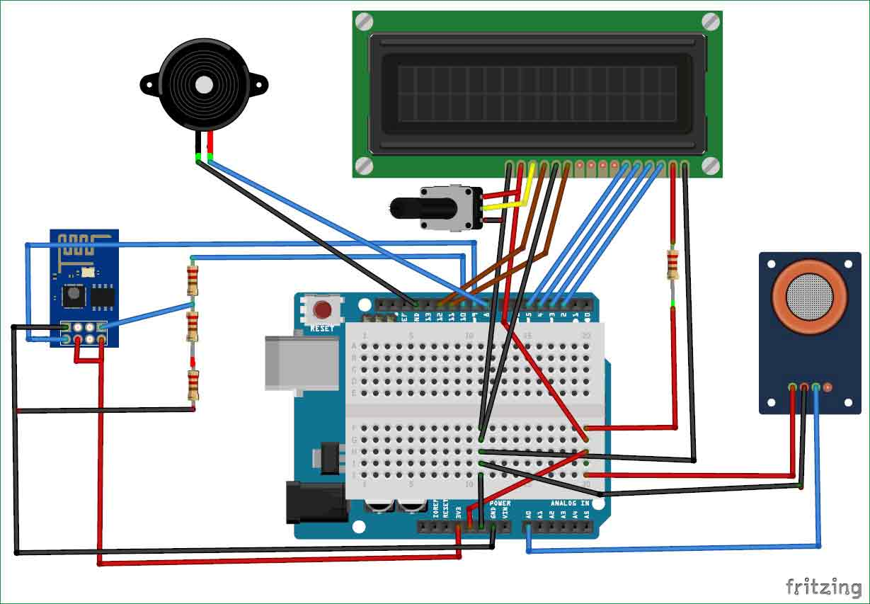 Postselectronics Projects Player Quiz Buzzer Circuit Diagram The Level Of Pollution Has Increased With Times By Lot Factors Like Increase In Population Vehicle Use Industrialization And Urbanization