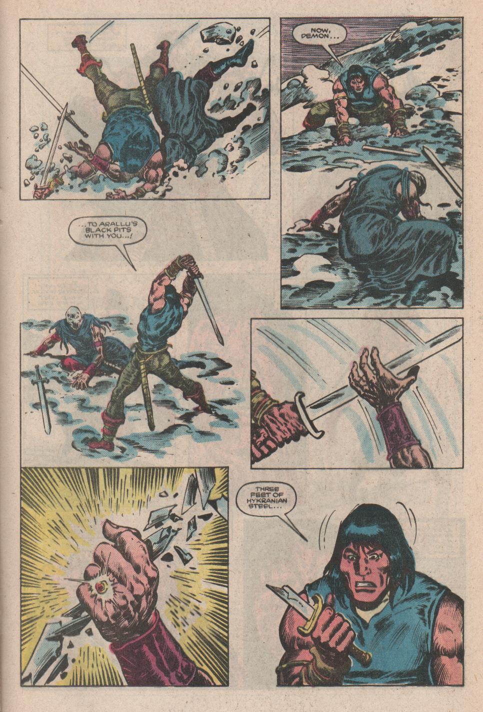 Conan the Barbarian (1970) Issue #175 #187 - English 16