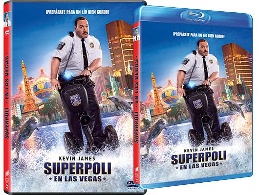 A la venta la comedia familiar de Kevin James 'Superpoli en Las Vegas' en DVD y Blu-ray
