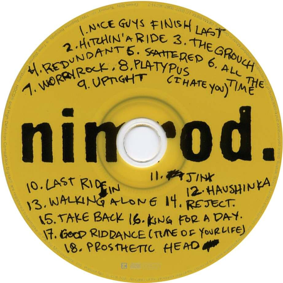 Nimrod Green Day Album Cover