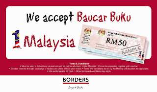 Borders Malaysia now accepts BB1M