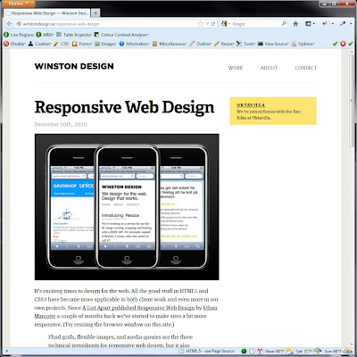Screen shot of http://winstondesign.se/responsive-web-design.