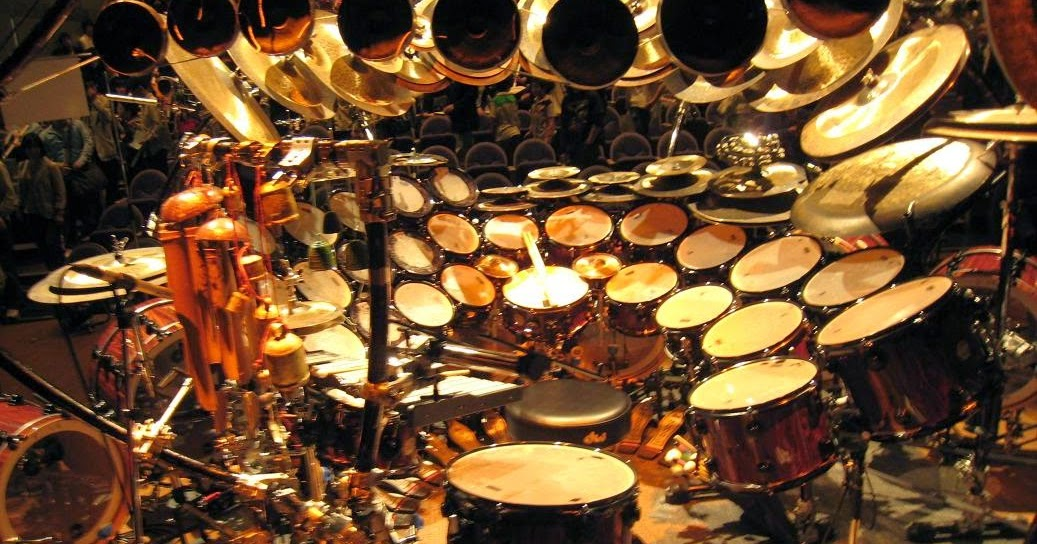 A Really Really Big Set Of Drums Media Spin